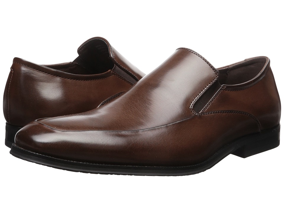 Kenneth Cole Unlisted - Win Big (Brown) Men's Slip on Shoes