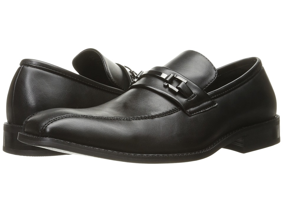 Kenneth Cole Unlisted - Calc-ulator (Black) Men's Slip on Shoes