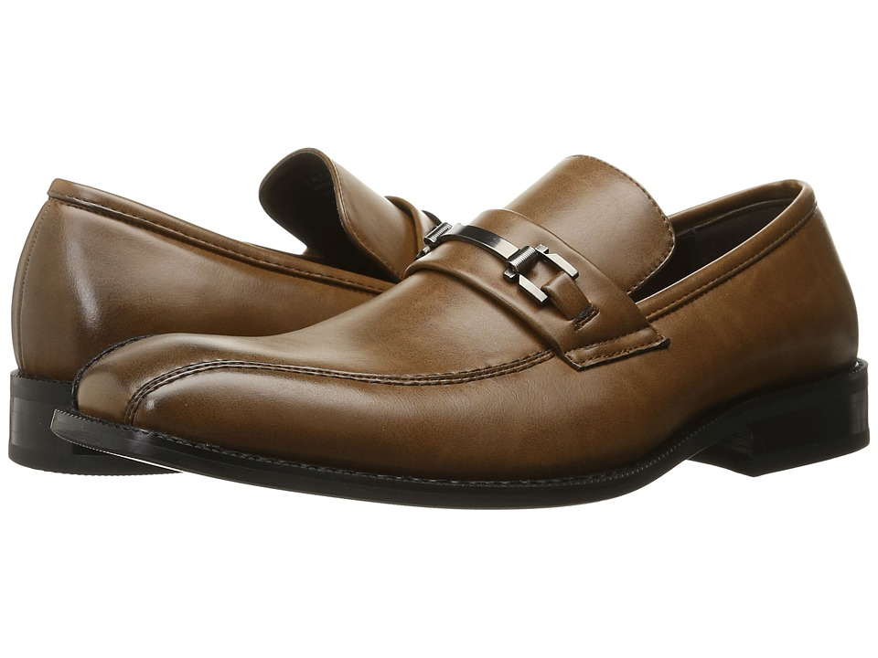 Kenneth Cole Unlisted - Calc-ulator (Cognac) Men's Slip on Shoes