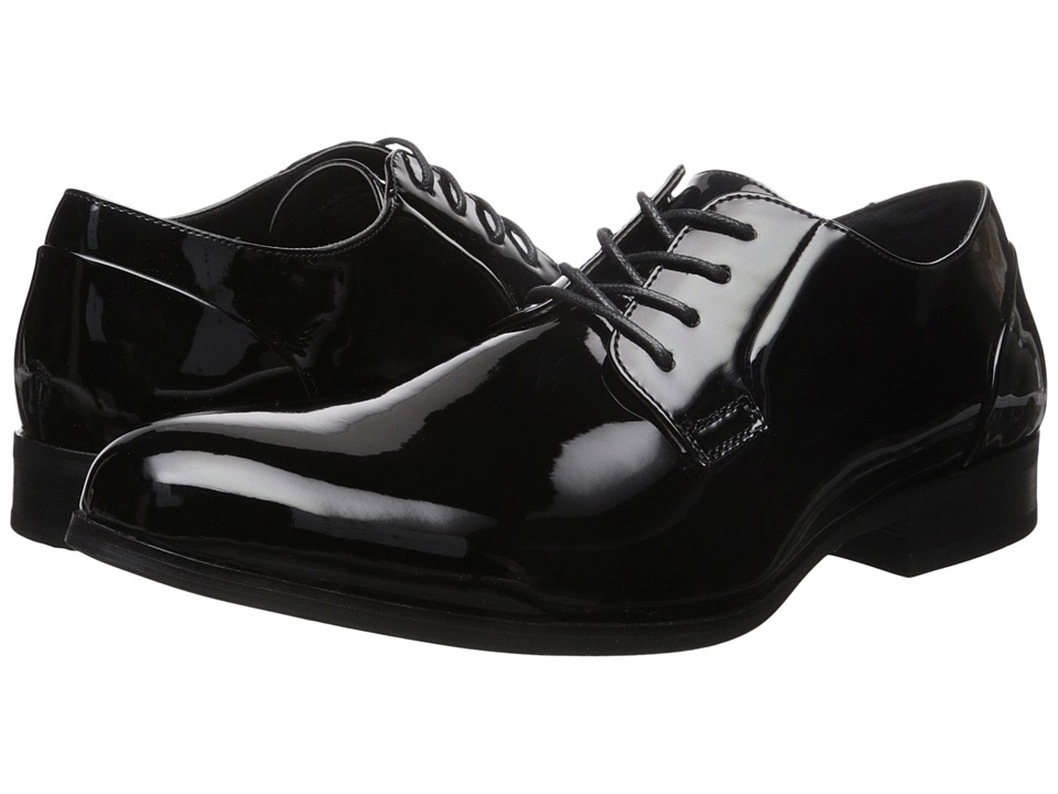 Kenneth Cole Unlisted - H-eel The World (Black) Men's Lace Up Wing Tip Shoes