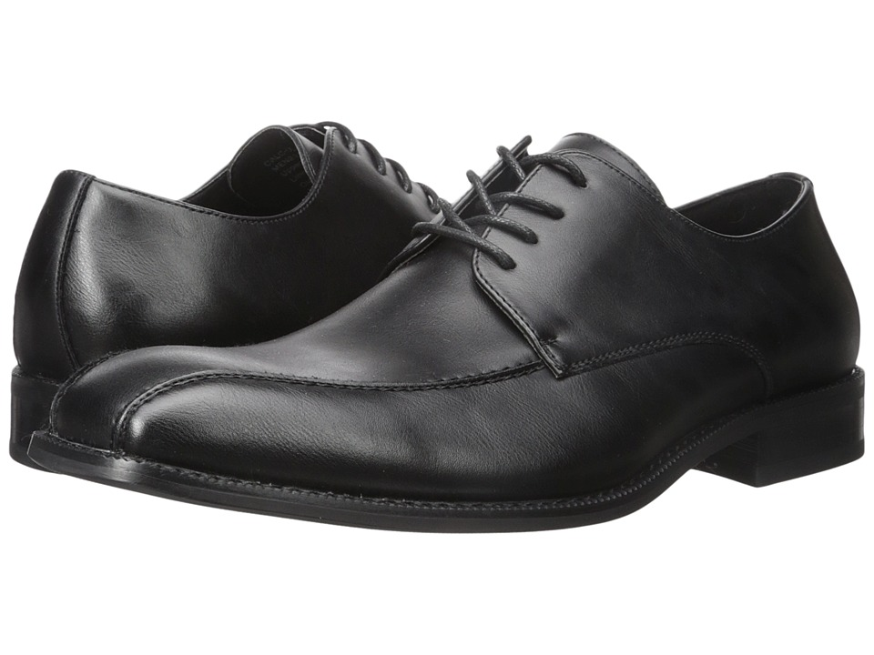 Kenneth Cole Unlisted - Calc-ulate (Black) Men's Lace Up Wing Tip Shoes