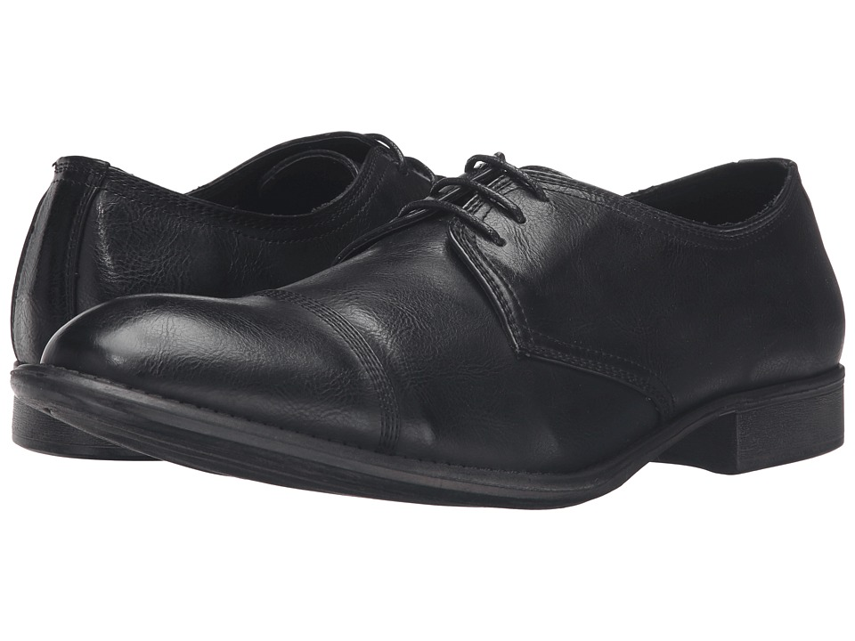 Kenneth Cole Unlisted - House Rules (Black) Men's Lace Up Wing Tip Shoes