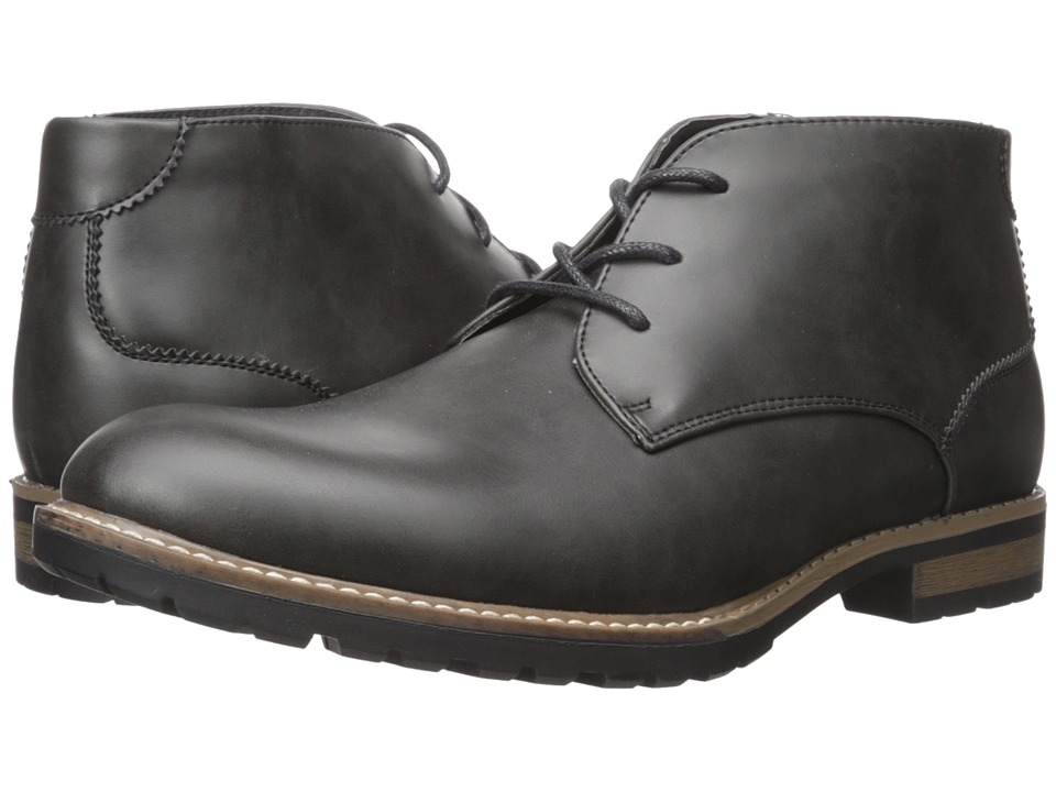 Kenneth Cole Unlisted - Trail Mix (Black) Men's Lace-up Boots