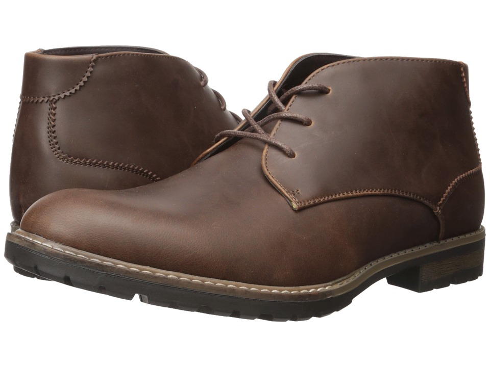 Kenneth Cole Unlisted - Trail Mix (Brown) Men's Lace-up Boots