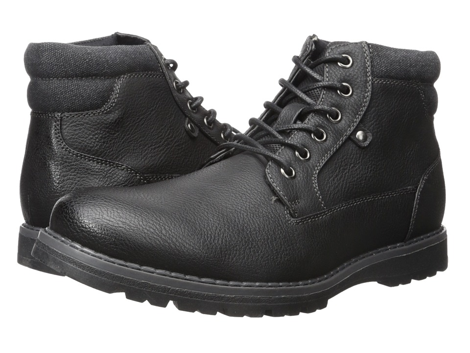 Kenneth Cole Unlisted - Hall-Way (Black) Men's Lace-up Boots