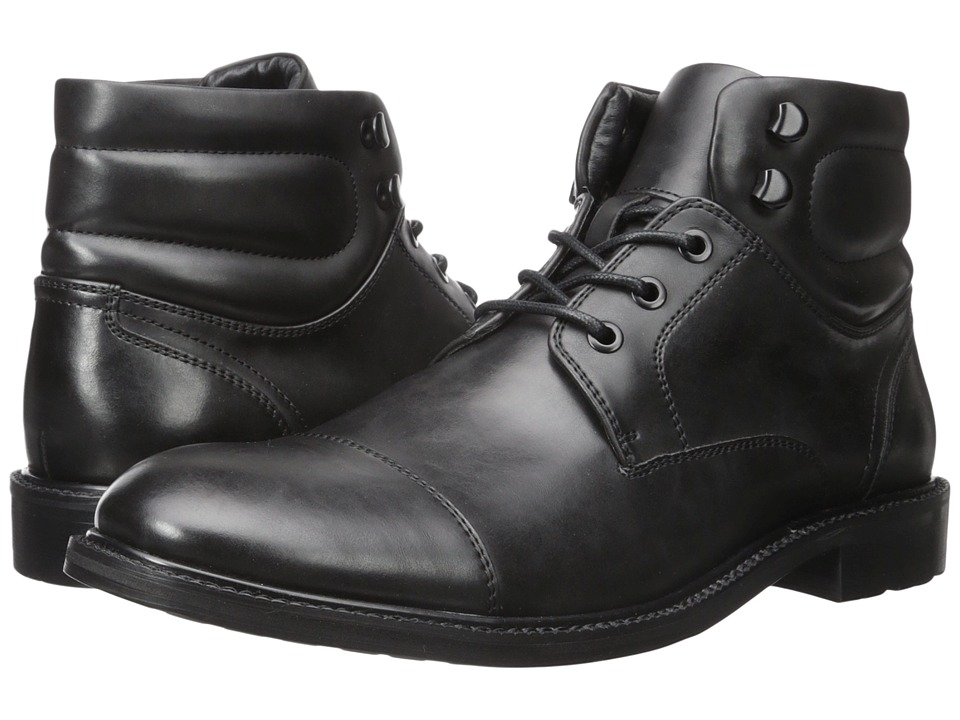 Kenneth Cole Unlisted - Roll With It (Black) Men's Lace-up Boots