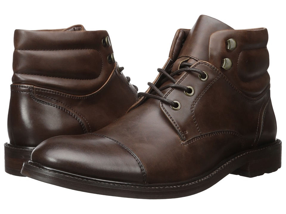 Kenneth Cole Unlisted - Roll With It (Brown) Men's Lace-up Boots