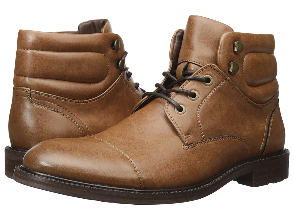 Kenneth Cole Unlisted - Roll With It (Cognac) Men's Lace-up Boots