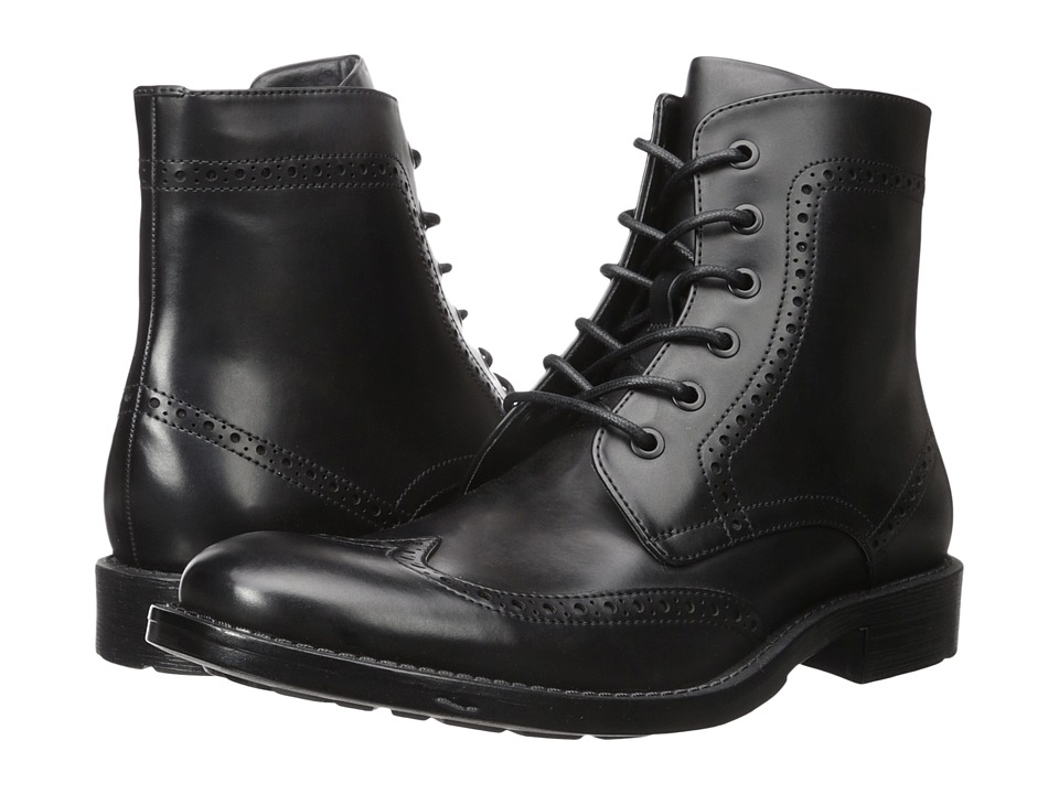 Kenneth Cole Unlisted - Blind-Sided (Black) Men's Lace-up Boots
