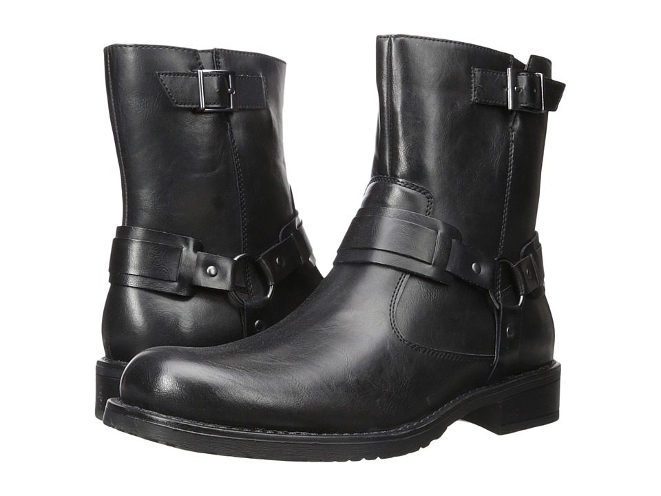 Kenneth Cole Unlisted - Slightly Off (Black) Men's Pull-on Boots