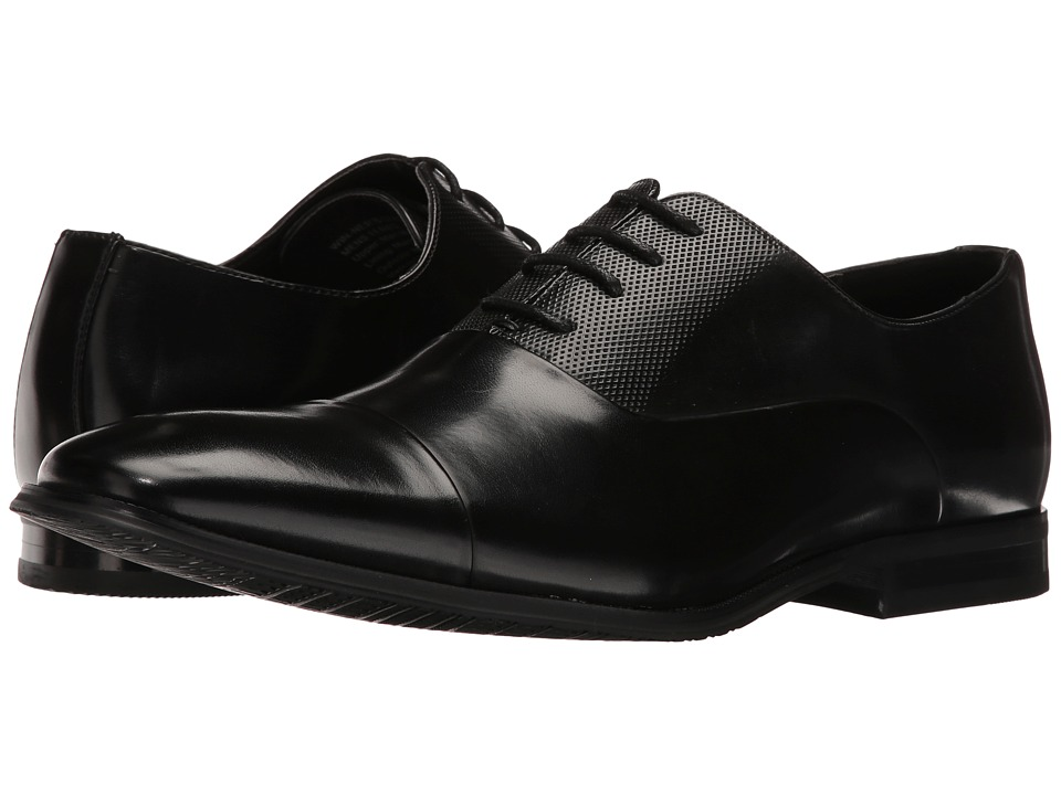 Kenneth Cole Unlisted - Win-ner's Circle (Black) Men's Lace Up Wing Tip Shoes