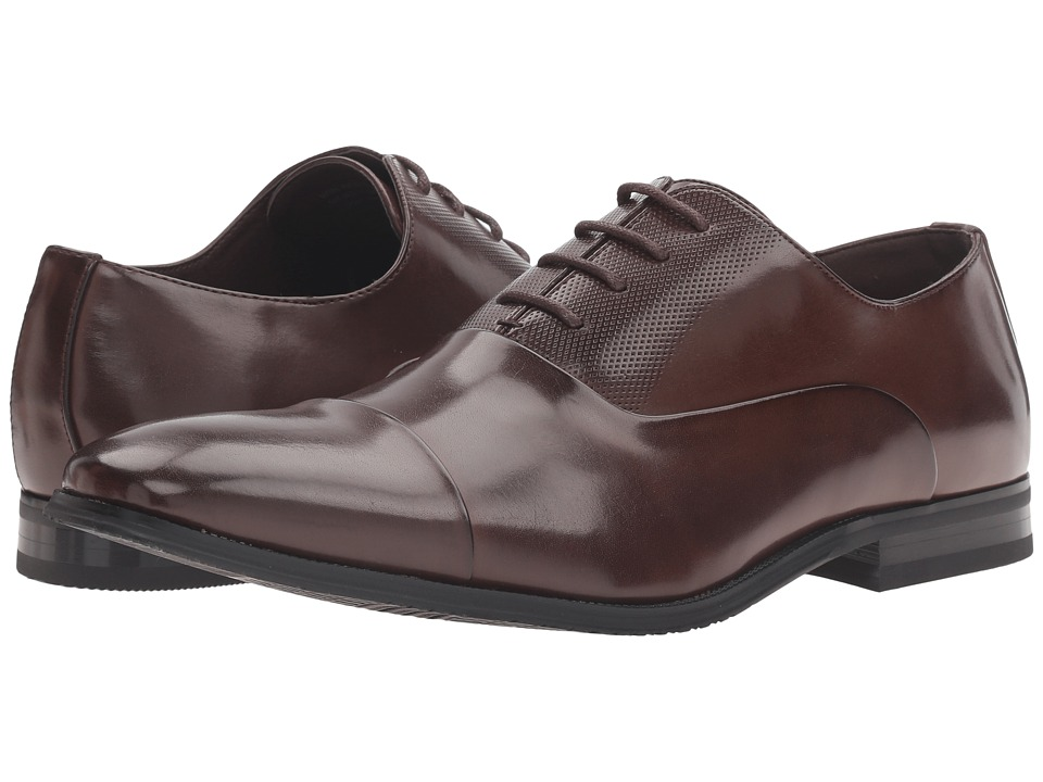 Kenneth Cole Unlisted - Win-ner's Circle (Brown) Men's Lace Up Wing Tip Shoes