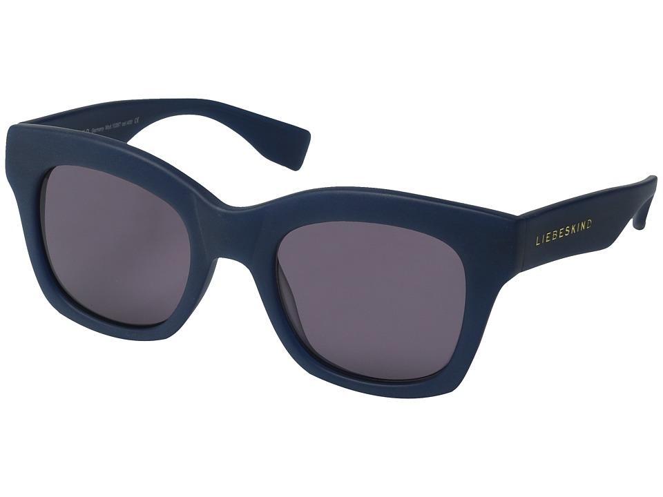 Liebeskind - 10367 (Blue Matte) Fashion Sunglasses