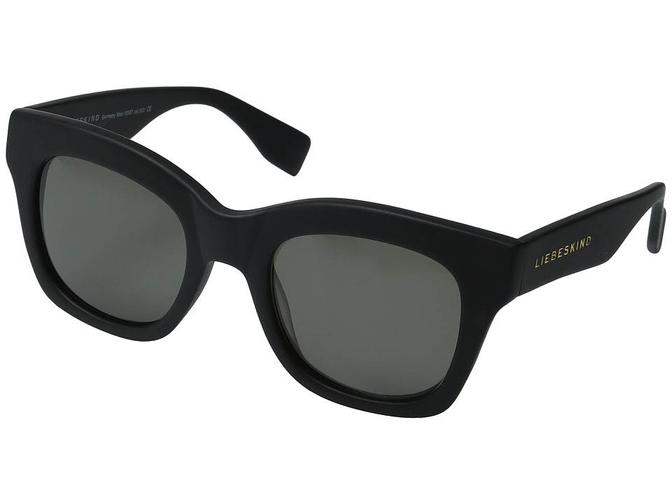 Liebeskind - 10367 (Black Matte) Fashion Sunglasses