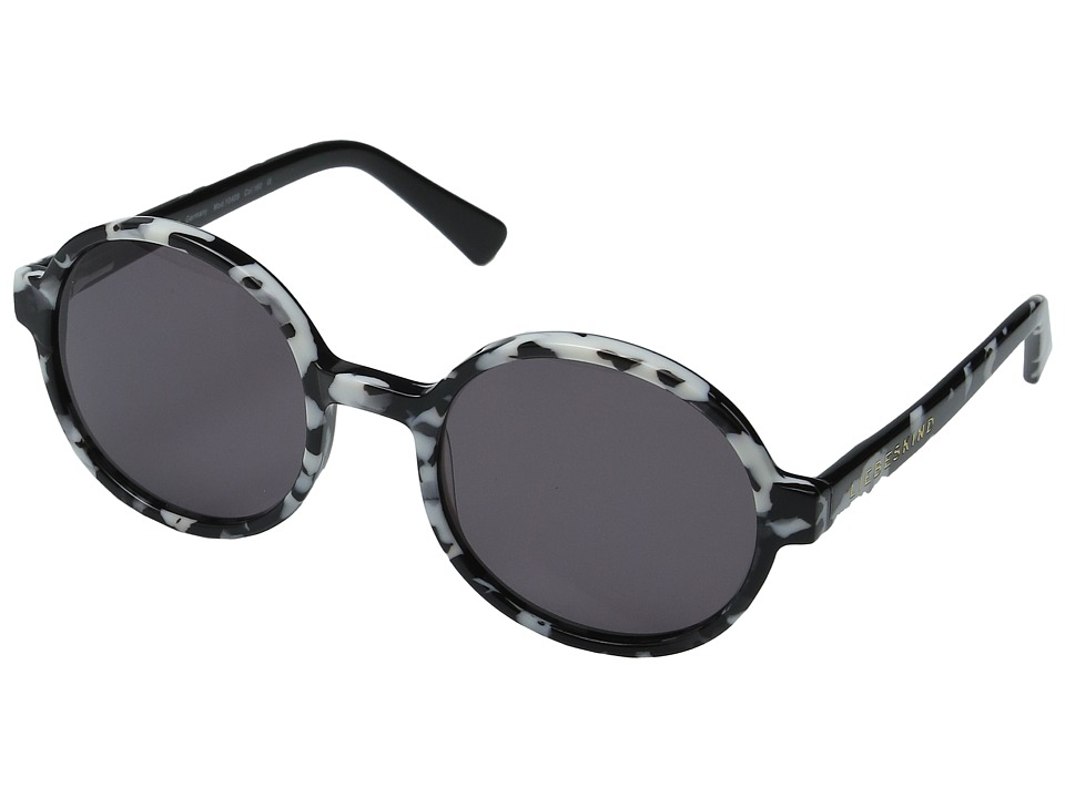 Liebeskind - 10409 (Black/White Shiny) Fashion Sunglasses