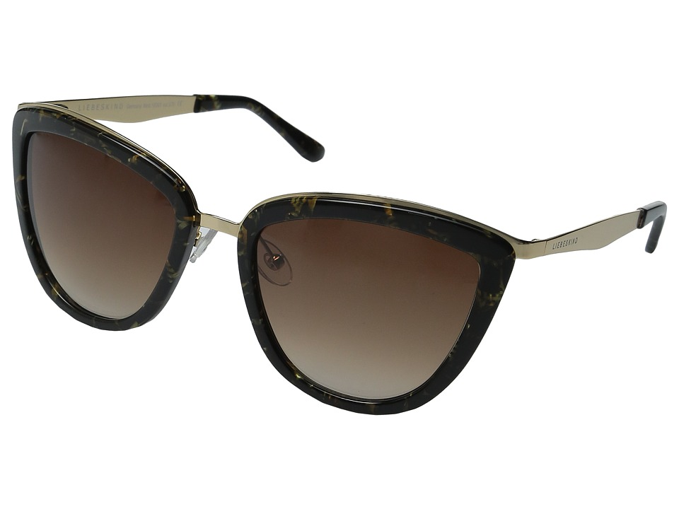 Liebeskind - 10365 (Khaki Gold) Fashion Sunglasses