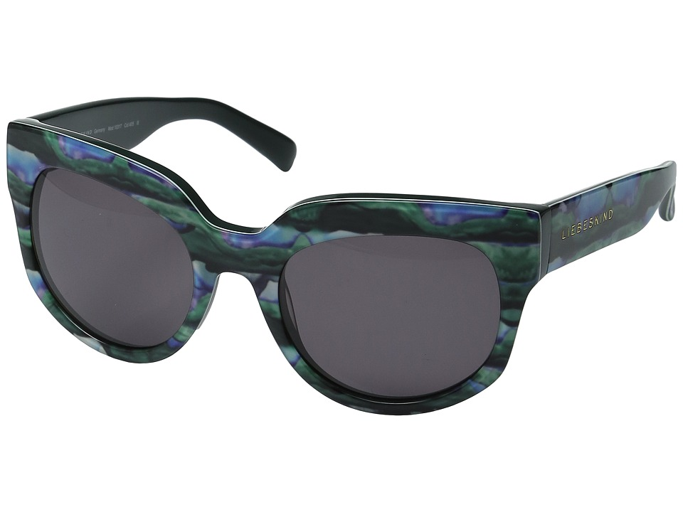 Liebeskind - 10317 (Blue Petrol) Fashion Sunglasses