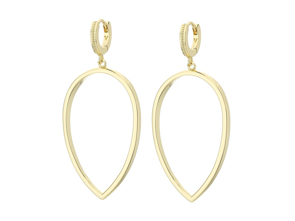 Vince Camuto - Drop Huggie Earrings (Gold) Earring