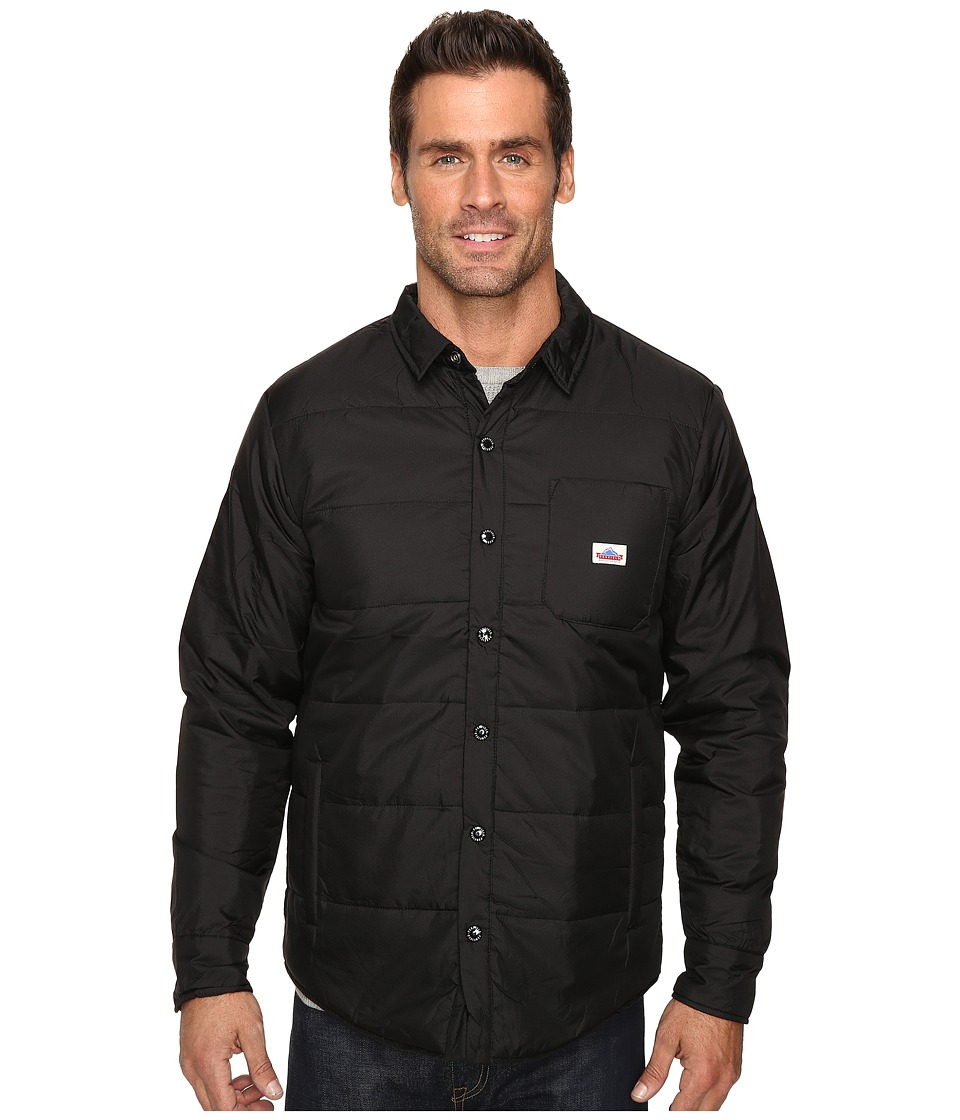 Penfield - Albright Insulated Shirt (Black) Men's Clothing
