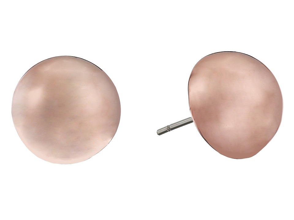Vince Camuto - Stud Earrings (Burnt Rose Gold) Earring