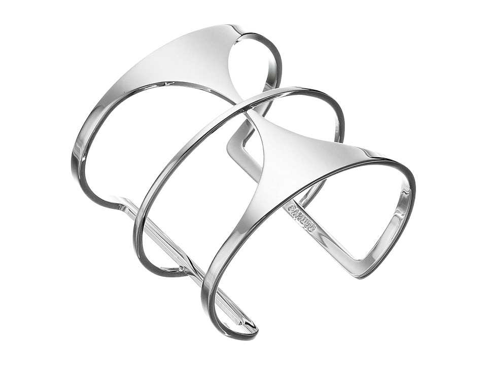 Vince Camuto - Super Fine T-Bar Cuff Bracelet (Light Rhodium) Bracelet