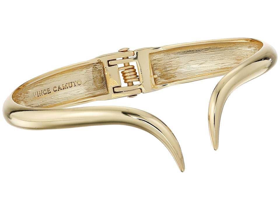 Vince Camuto - Double Curve Hinge Bracelet (Gold) Bracelet
