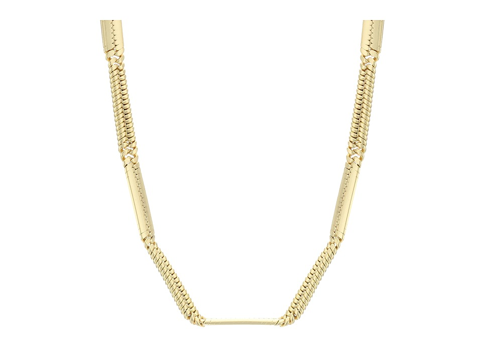 Vince Camuto - 18 Short Chain Necklace (Worn Gold) Necklace