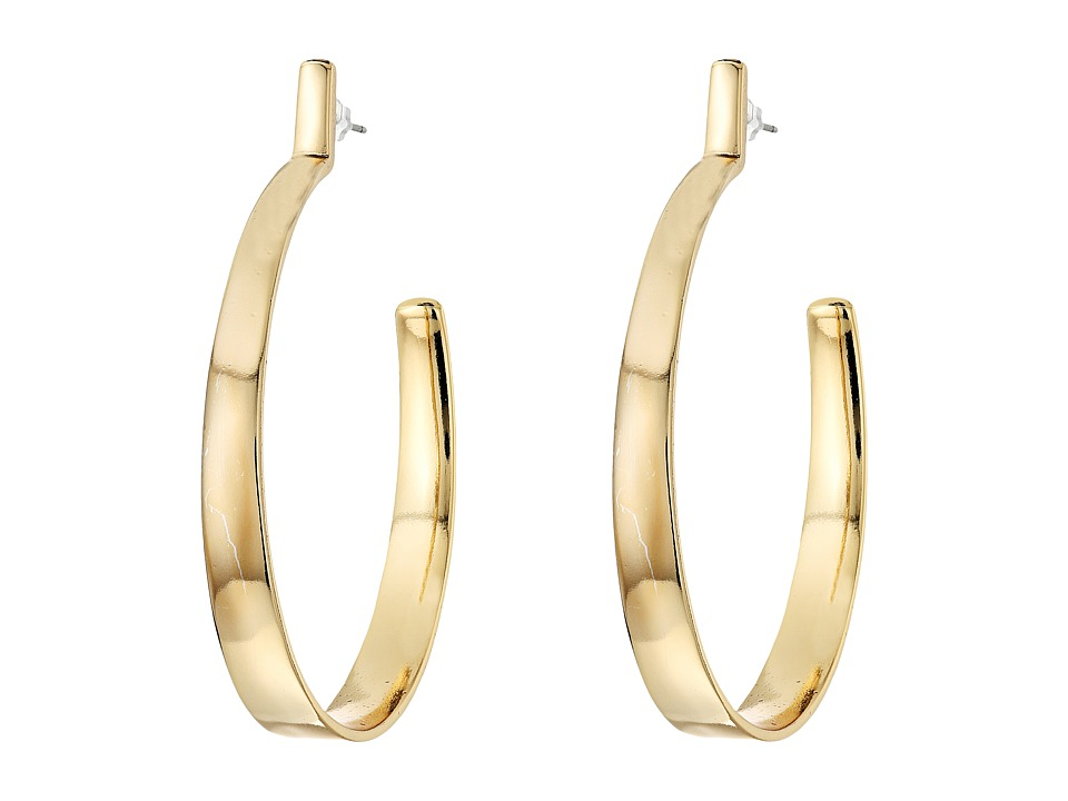 Vince Camuto - Bent Hoop Earrings (Gold) Earring