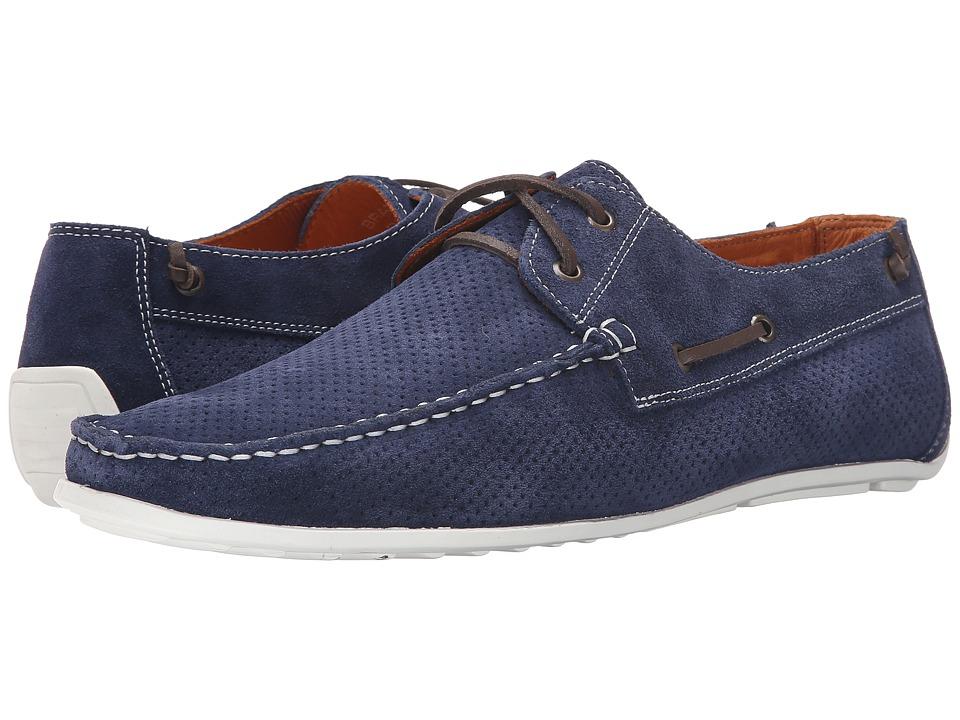 Donald J Pliner - Braden (Navy) Men's Shoes