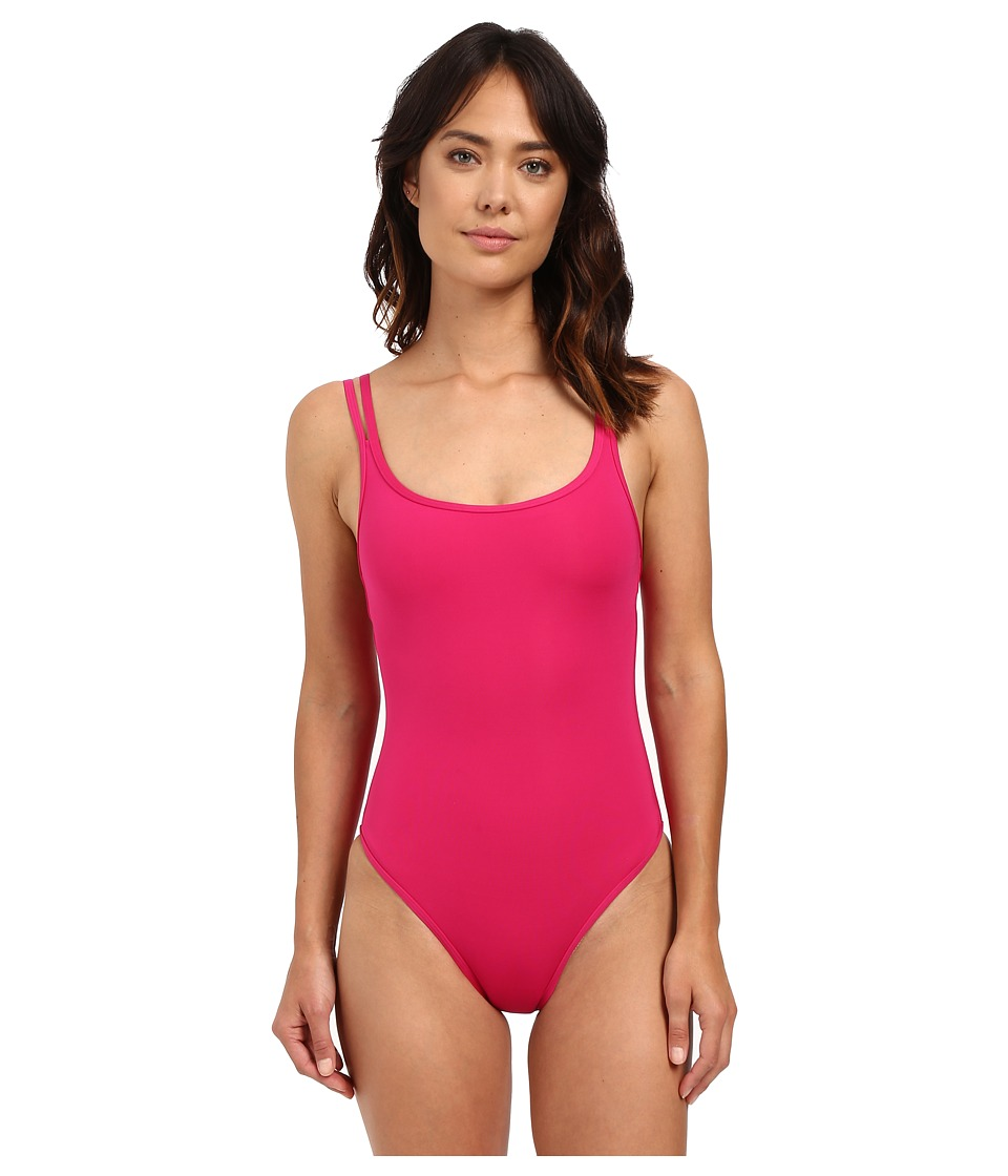 JETS by Jessika Allen - Jetset Double Strap One-Piece Swimsuit (Grenadine) Women's Swimsuits One Piece