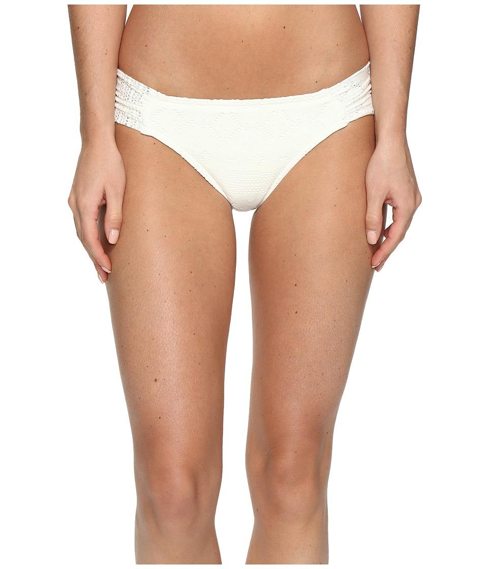 Roxy - Cozy And Soft Base Girl Bikini Bottom (Cream) Women's Swimwear