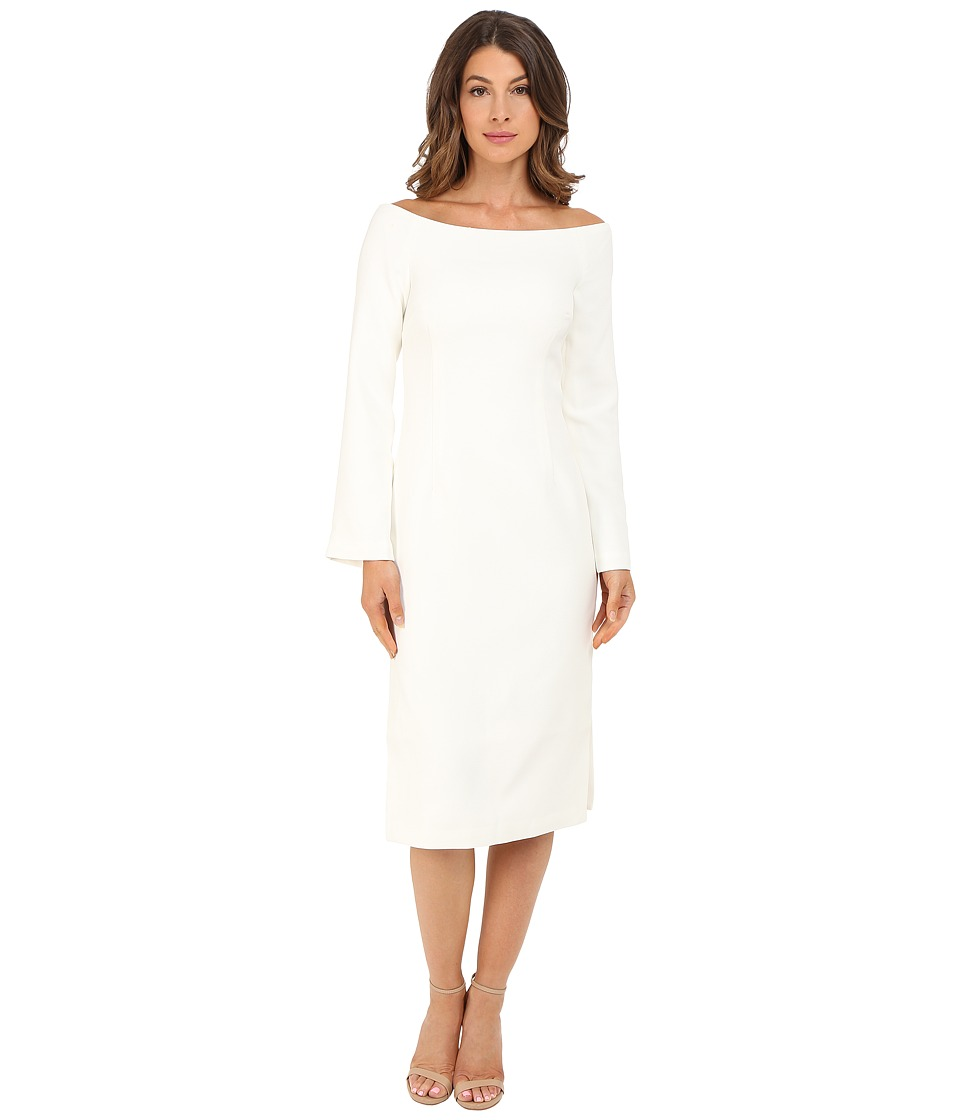 KEEPSAKE THE LABEL - Heartlines Long Sleeve Dress (Ivory) Women's Dress