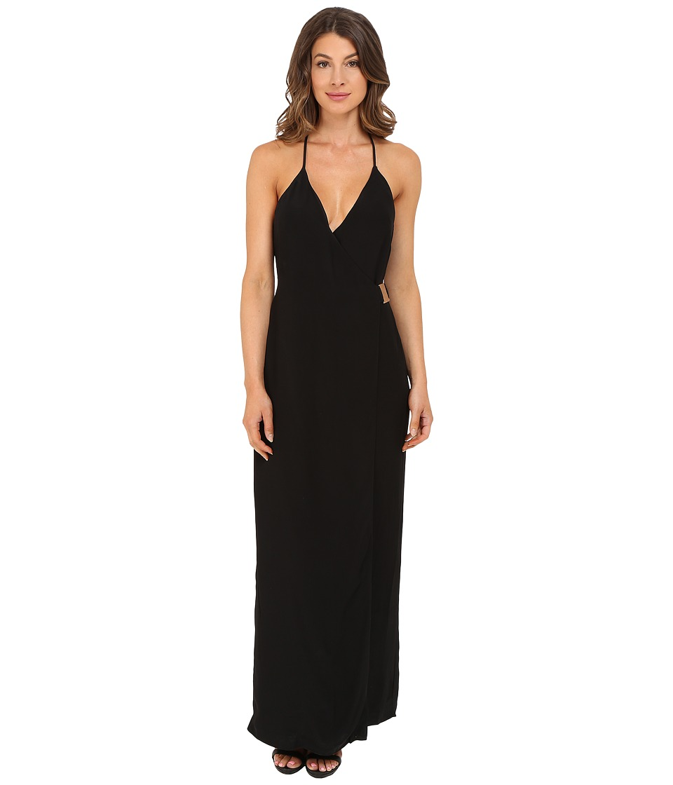 KEEPSAKE THE LABEL - Oasis Maxi Dress (Black) Women's Dress