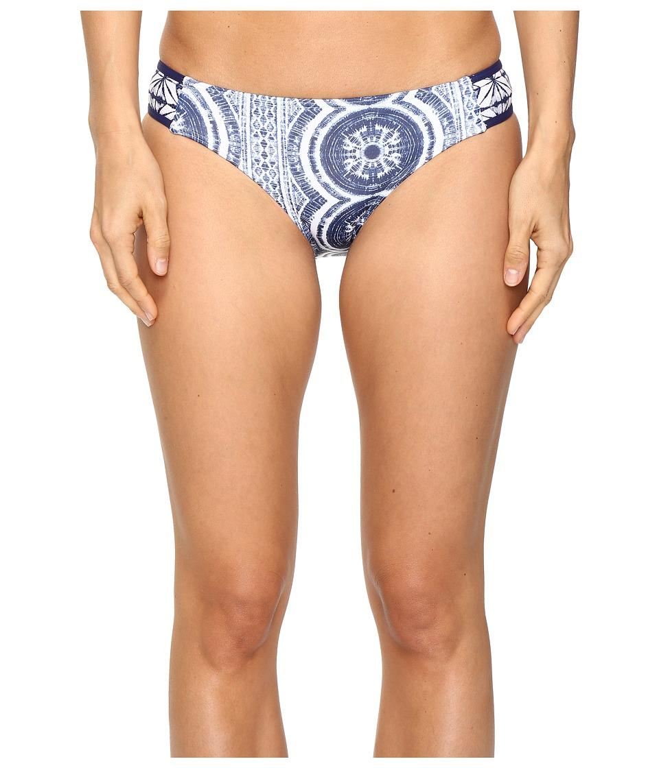 Roxy Visual Touch Base Girl Bikini Bottom (Kiki Daze Cream) Women