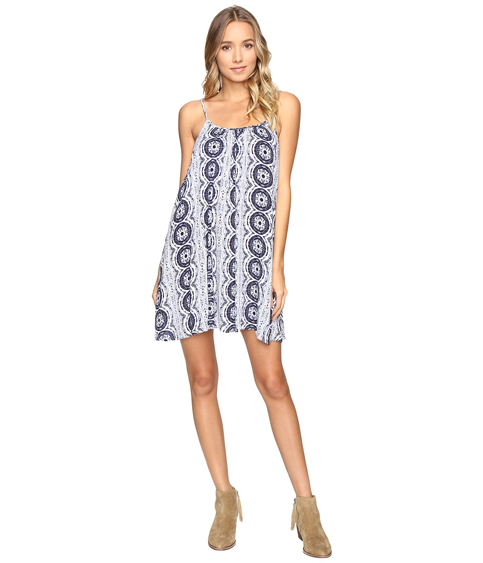 Roxy - Windy Fly Away Print Dress Cover-Up (Kiki Daze Cream) Women's Swimwear