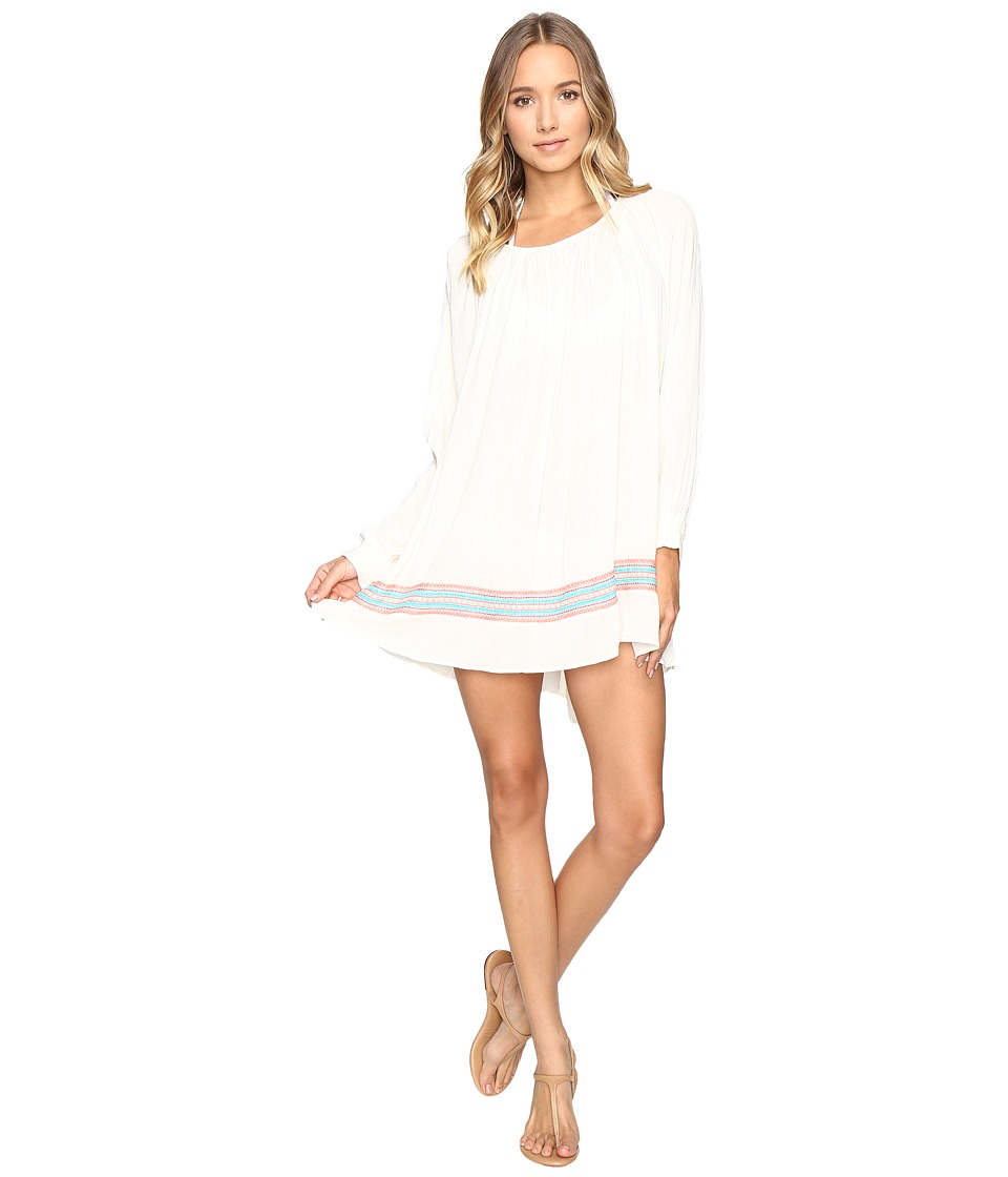 Roxy - Albe Dress Cover-Up (Cream) Women's Swimwear
