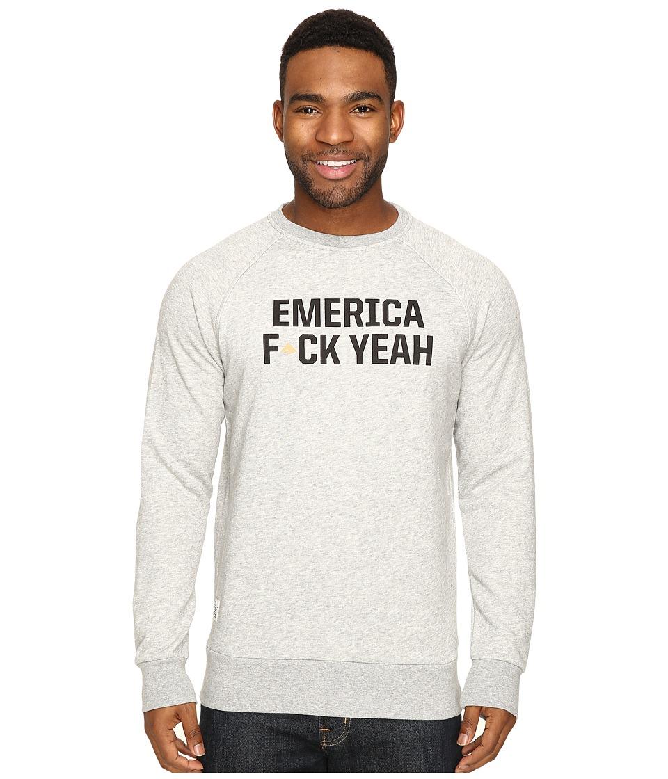 Emerica - F Yeah Crew Fleece (Grey/Heather) Men's Fleece