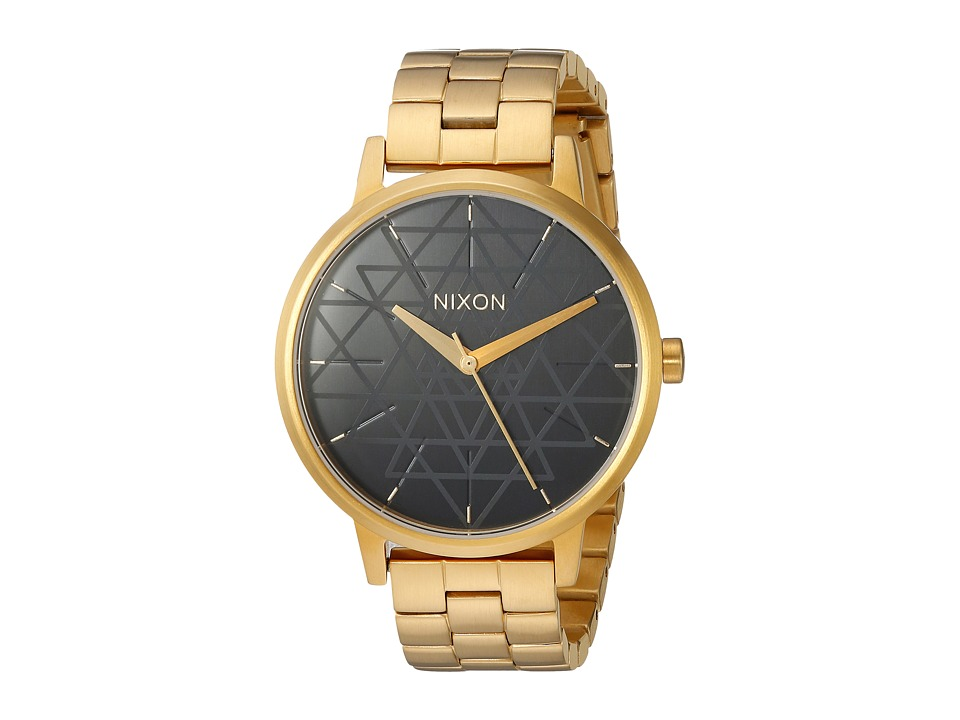 Nixon - Kensington X Sacred Geometry Collection (Gold/Black/Stamped) Watches