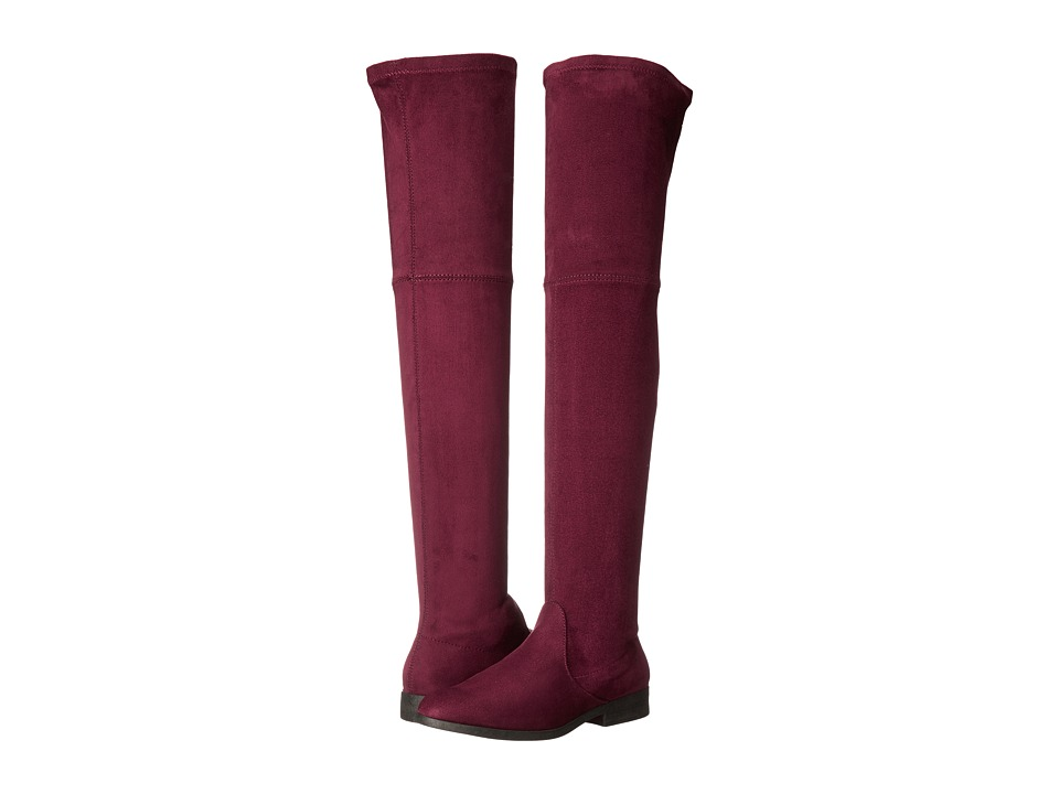 LFL by Lust For Life - Radikal (Burgundy Suedette) Women's Pull-on Boots