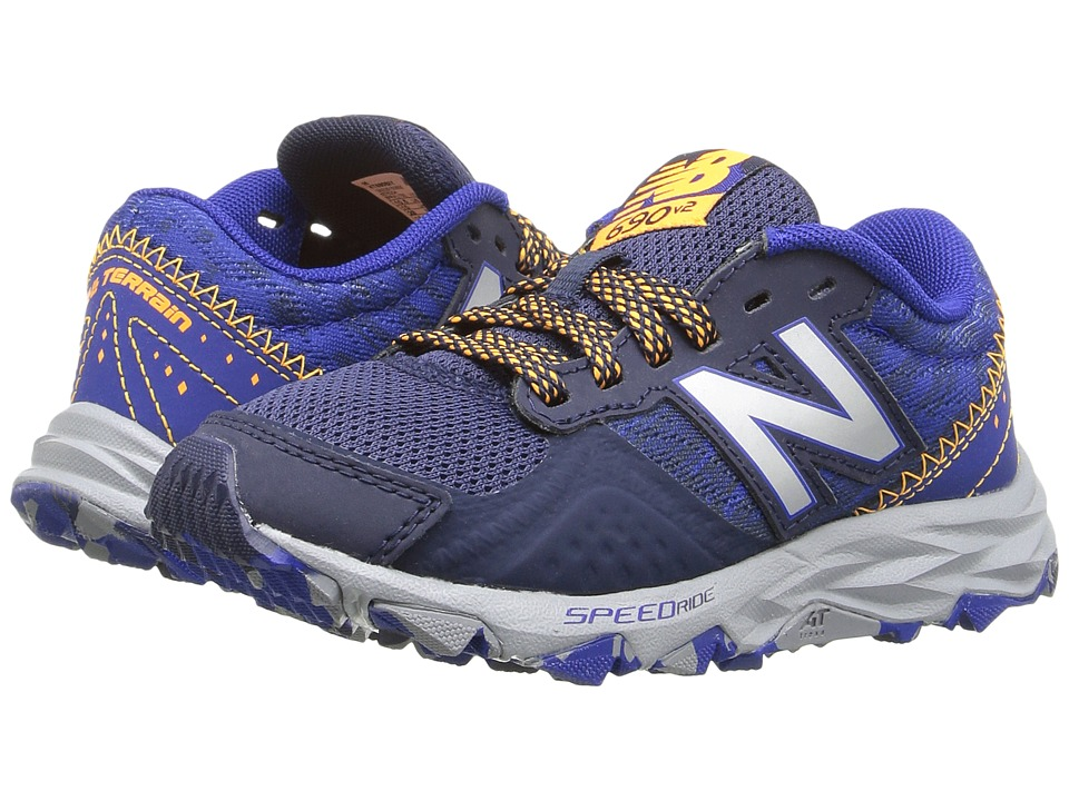 New Balance Kids - KT690V2Y (Little Kid/Big Kid) (Blue/Grey) Boys Shoes