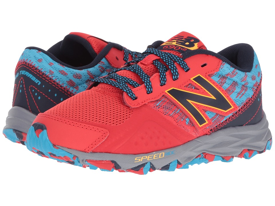 New Balance Kids - KT690V2Y (Little Kid/Big Kid) (Red/Blue) Boys Shoes