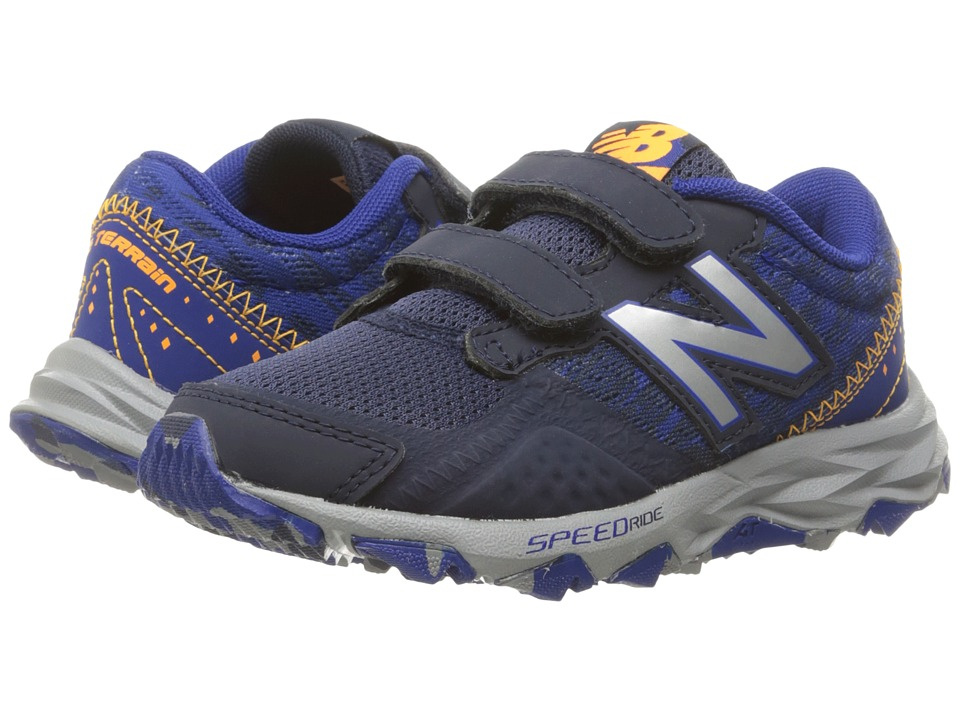 New Balance Kids - KE690V2Y (Little Kid/Big Kid) (Blue/Grey) Boys Shoes