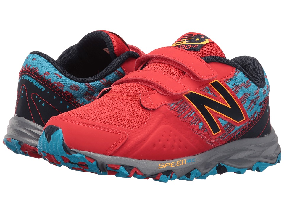 New Balance Kids KE690V2Y (Little Kid/Big Kid) (Red/Blue) Boys Shoes