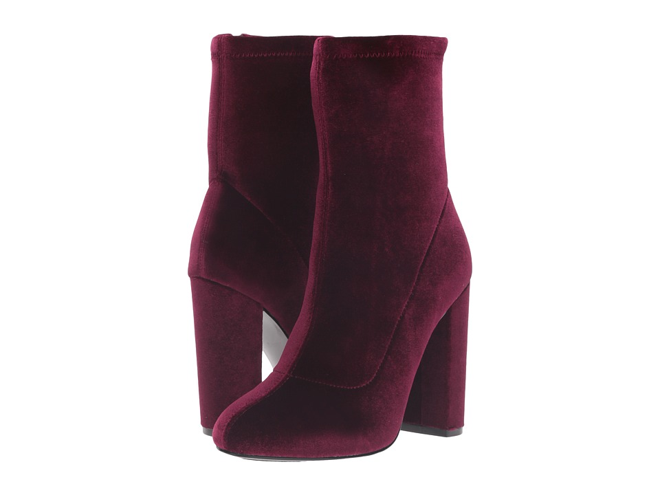 LFL by Lust For Life - Macey (Burgundy Velvet) Women's Shoes