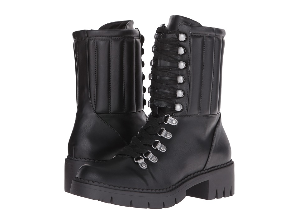LFL by Lust For Life - Abbey (Black PU) Women's Boots