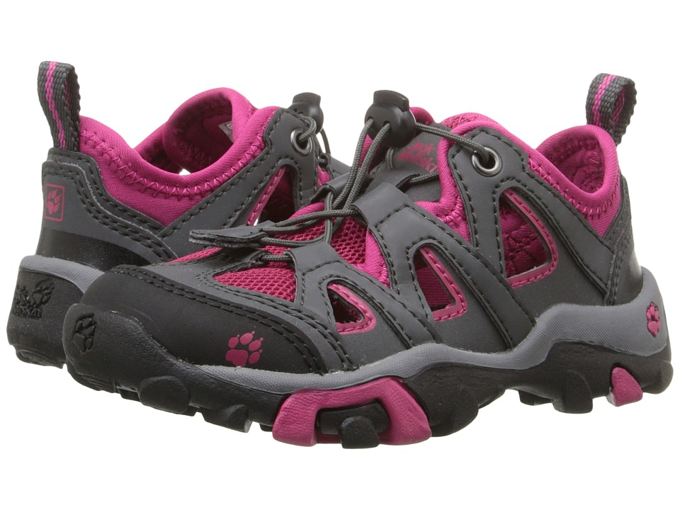 Jack Wolfskin Kids - Mountain Attack Air (Toddler/Little Kid/Big Kid) (Azalea Red) Kids Shoes
