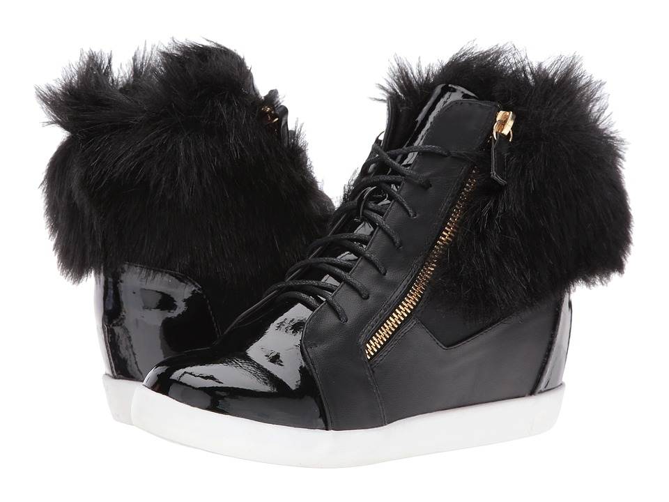 LFL by Lust For Life - Phluff (Black PU) Women's Shoes