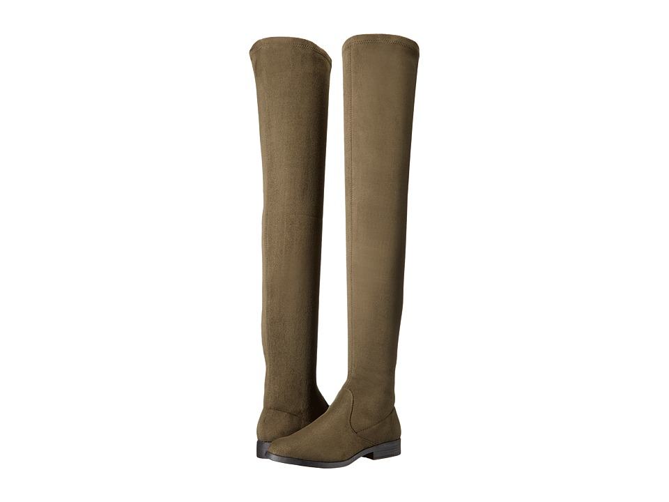 LFL by Lust For Life - Rank (Army Green Suedette) Women's Boots