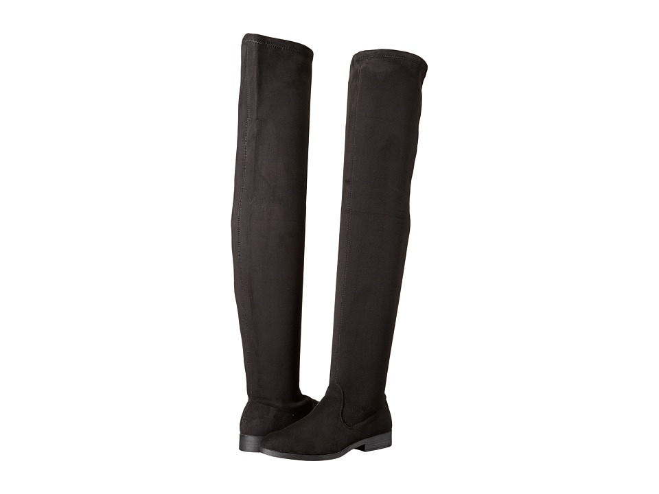 LFL by Lust For Life - Rank (Black Suedette) Women's Boots