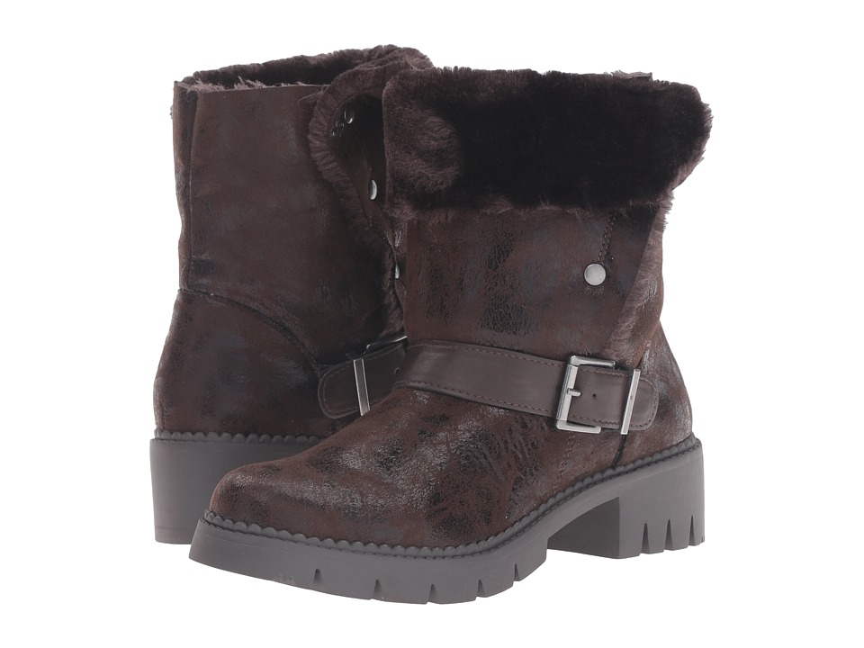 LFL by Lust For Life - Atlas (Brown PU) Women's Boots